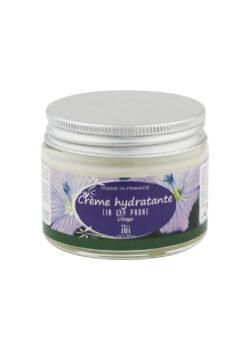 crème hydratante lin prune