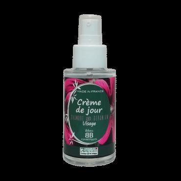 Crème de Jour, peaux sèches. Chanvre et Géranium – 50ml flacon verre