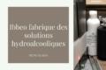 ibbeo fabrique des solutions hydroalcoolique