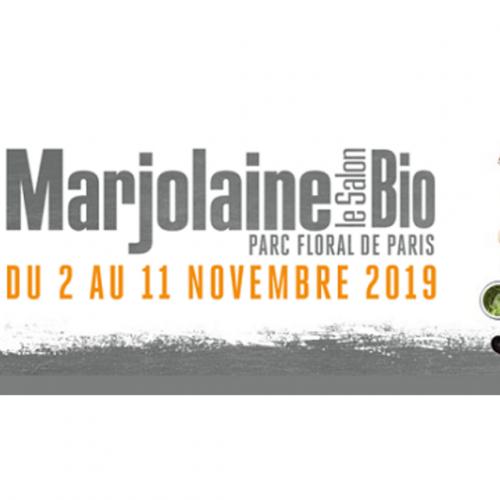 Salon Marjolaine 2019 parc floral – Stand K8