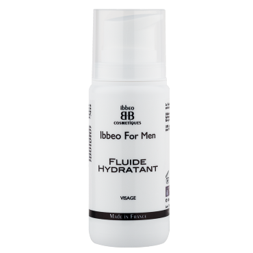 fluide hydratant homme ibbeo