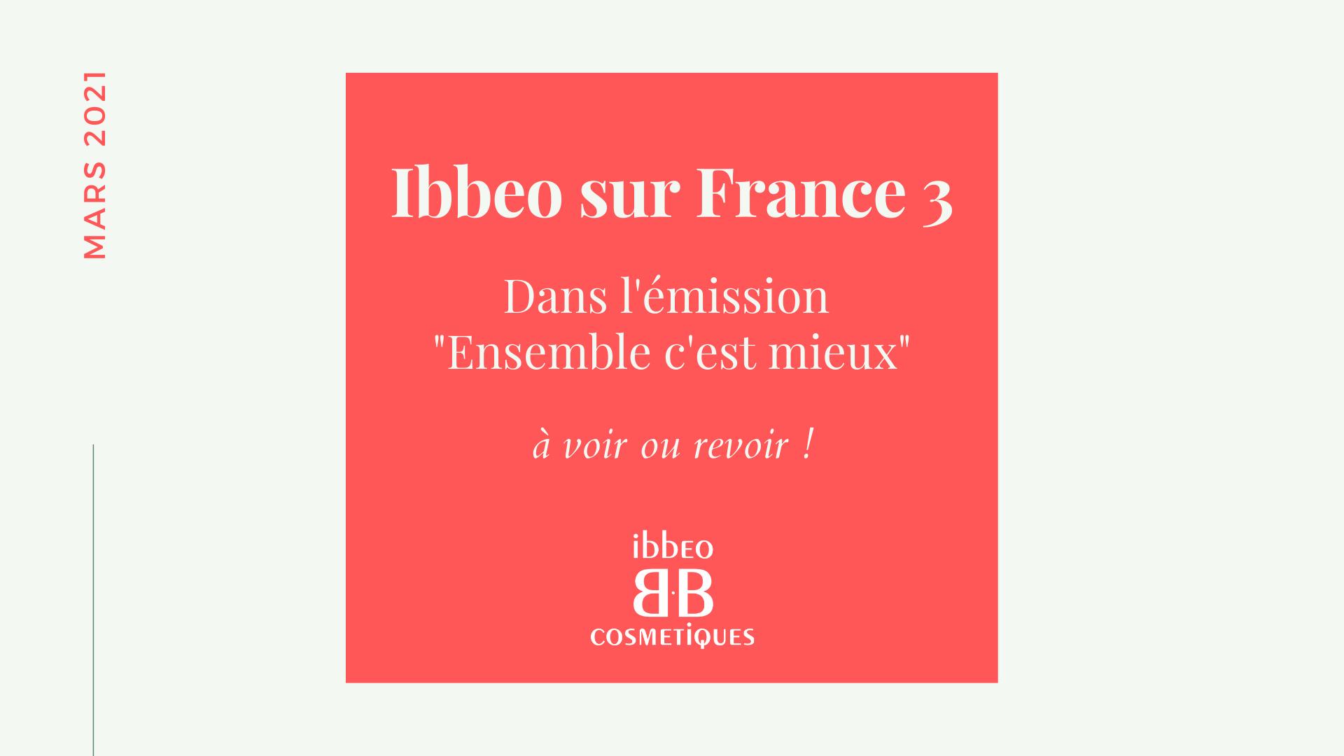 Ibbeo sur france 3